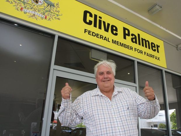 Federal Member for Fairfax, Clive Palmer.