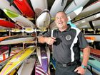 FREEING UP THE DAY: Ashley Robinson from the Alex Surf Club looks forward to his Sunday.