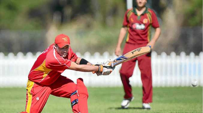 OUT OF THE MIDDLE: Sunshine Coast Scorchers skipper James Henry guides his side to victory, finishing on 31 not out.