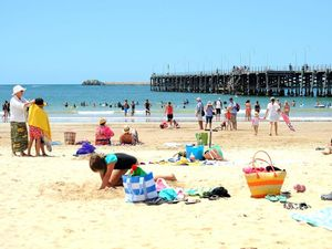 Jetty Beach closed after shark sightings