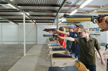 Air Pistol range.