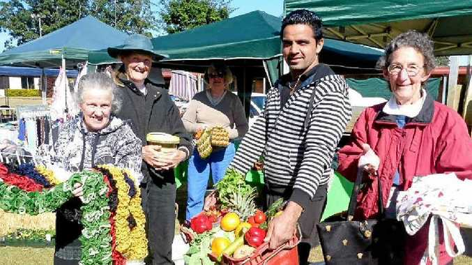 MARKET MAGIC: Some of the stallholders from the Casino farmers' markets.