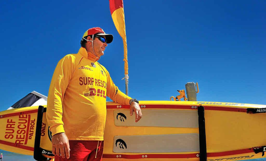 Tannum Sands Surf Life Saving Club member Cliff Harvey.