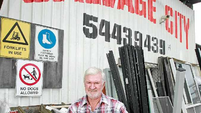 NEW ADVENTURE: Brian Kelly, of Salvage City at Maroochydore, plans to close at the end of February if a buyer is not found for the business.