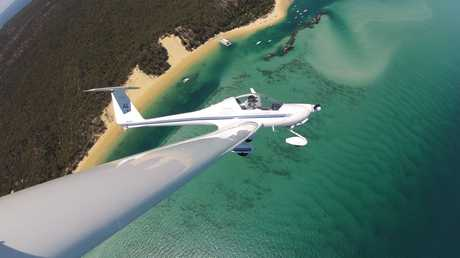 Al Sim explores Moreton Isxland from the sky.