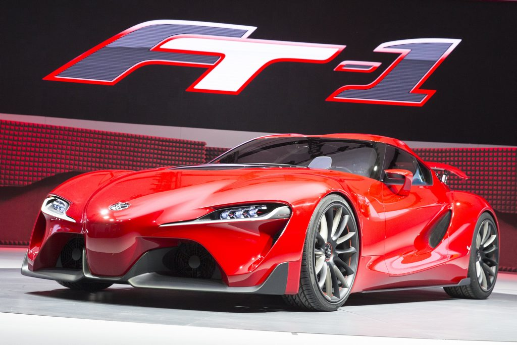 Toyota has revealed the FT-1 Concept.