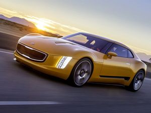 Kia GT4 Stinger is music to ears of muscle car fans