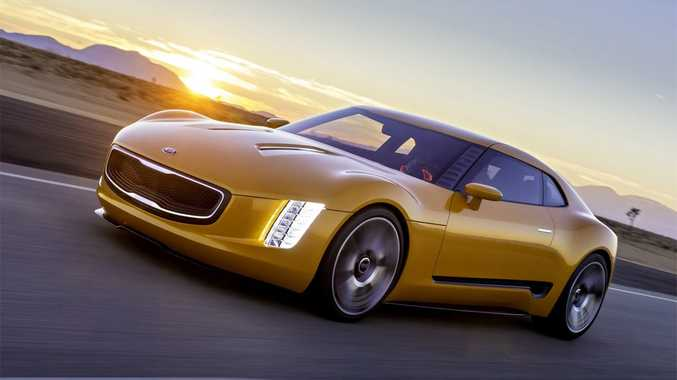The Kia GT4 Stinger.