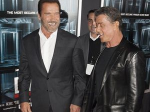 Stallone and Schwarzenegger hated each other in a good way