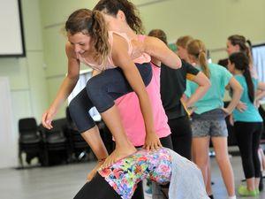 SUNfest dance workshop