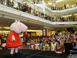 Adoring fans flock to see TV favourite Peppa Pig