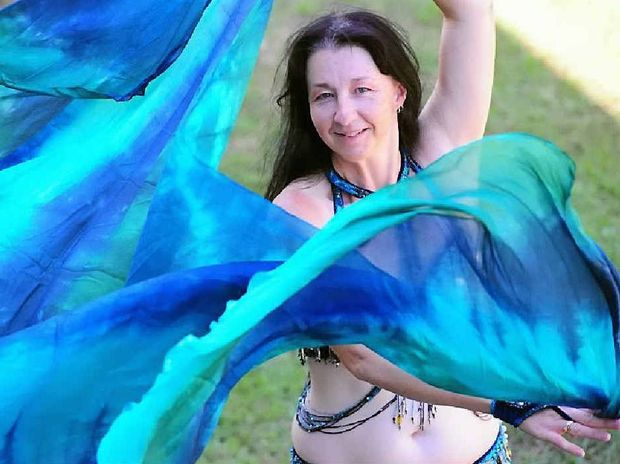 SHAKE, SHAKE, SHAKE: Melanie Achilles is running a free belly dancing class this weekend before classes start at the end of January.