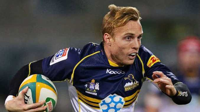 PLAYER FOR HIRE: Former Brumby Tom Cox is hoping to be picked up by a Super Rugby club as he recuperates from a recent shoulder reconstruction which followed a successful sevens campaign in London last year.
