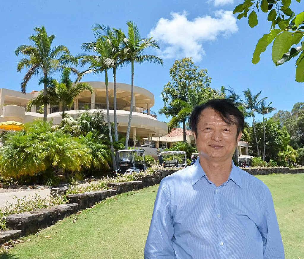 BIG PLANS: Hong Kong-based developer Feng Di is the new owner of Noosa Springs Resort.