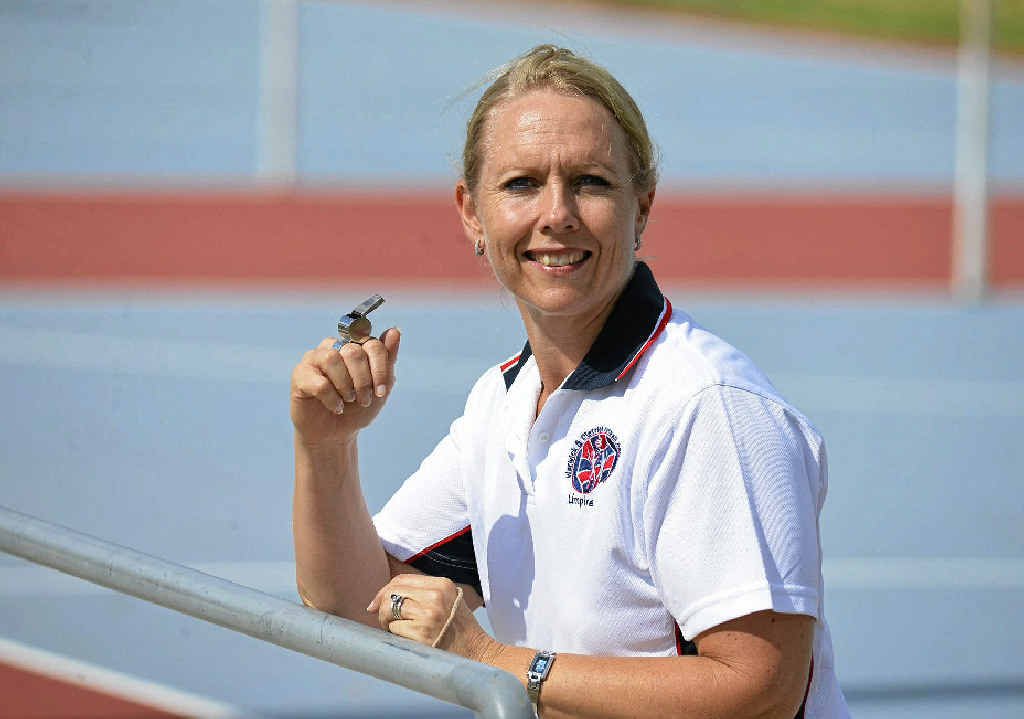 WELL DONE: Warwick official Linda Bunch has been upgraded as a netball umpire.