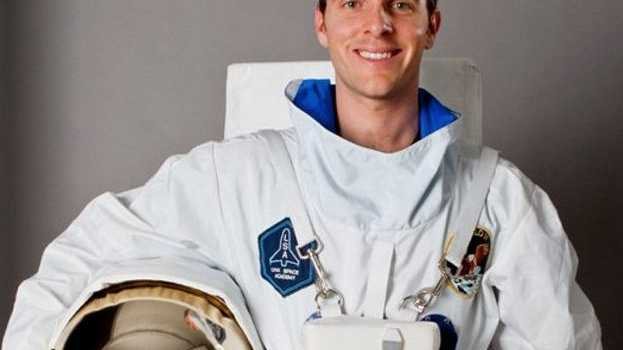 Yeppoon's Tim Gibson will head into space next year.