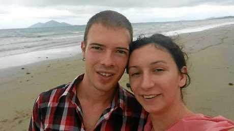 Nicholas Ford and his fiance Maja Tolic, from Basel, Switzerland, were reunited with their camera almost one year after it was lost, thanks to the posting of this photograph on social media by Whitsunday tour company Ocean Rafting.