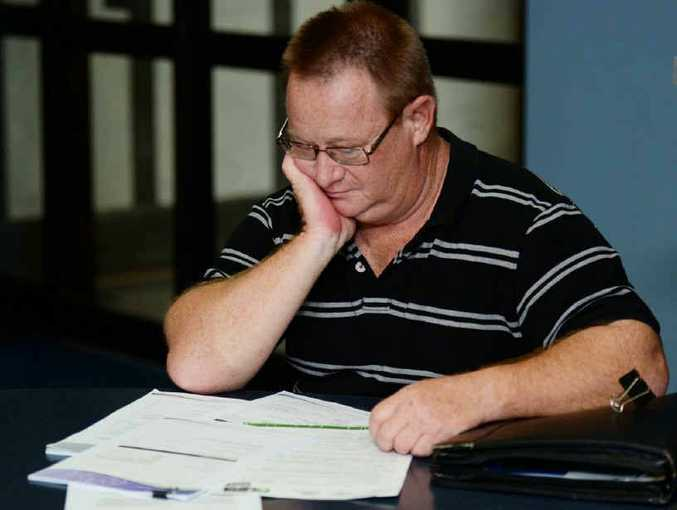 FRUSTRATED: John Russell is trying to care for his step mum's finances, as she suffers from dementia, but is tired of his bank not helping him have administrative rights, after his dad passed away.