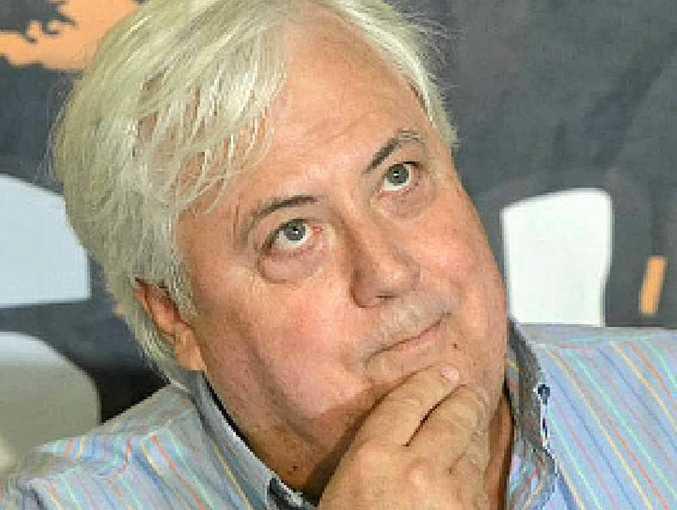 CLIVE PALMER: Spokesman dismissed comments.