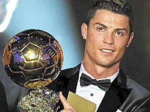 Cristiano Ronaldo regains title of world's best footballer