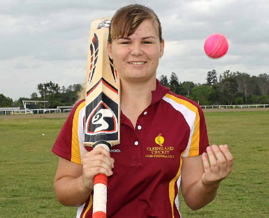 STUMPED: Lexie Muller continues to excel on the cricket pitch against both men and women.
