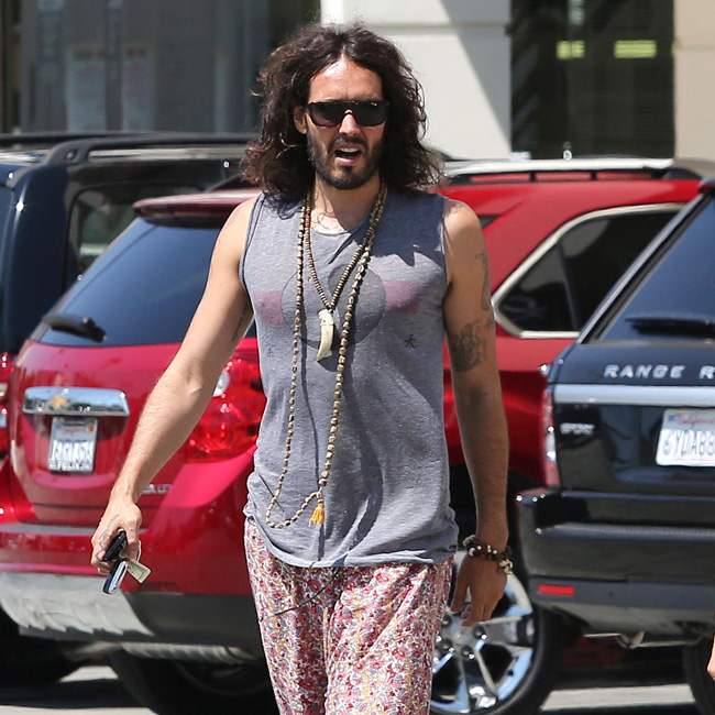 Comedian Russell Brand has admitted he sneaked his way onto a train to avoid paying for a ticket recently, claiming he