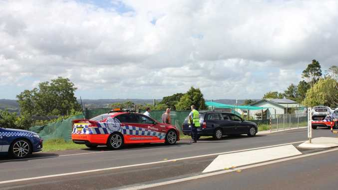 Police pulled over a Holden Commodore at Clunes they suspected was stolen following a pursuit from Ewingsdale this morning.