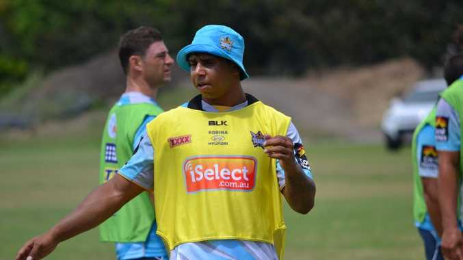 Gold Coast Titans player Albert Kelly will be in the Tweed on Wednesday January 22