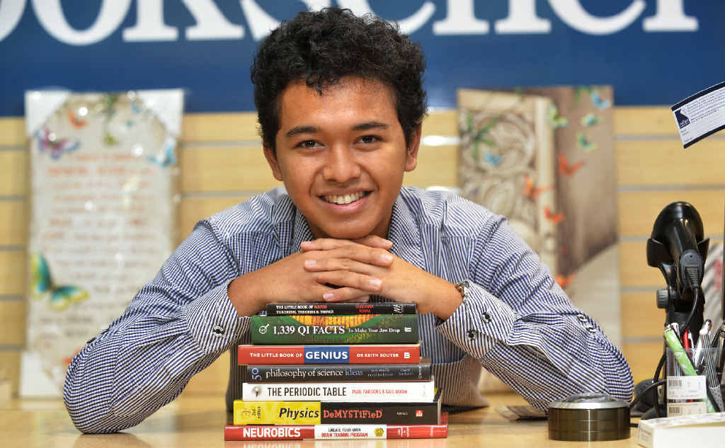 Eka Setiyawan scored his first preference for university courses, a Bachelor of Engineering at University of Queensland, which he will start next month.
