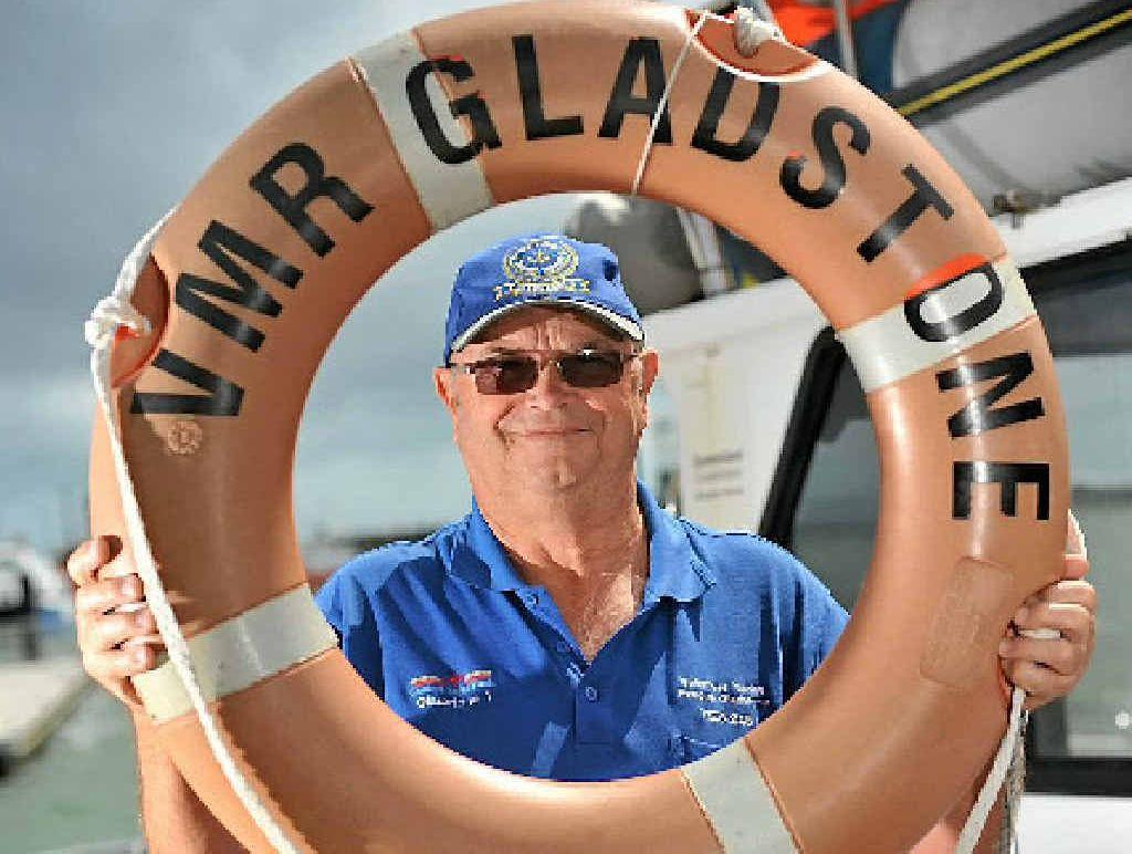 Volunteer Marine Rescue service volunteer Terry Webber says volunteering is a great hobby.