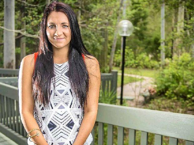 GIRL FRIDAY: Shikira van Lawick, 21, has a love of the outdoors.