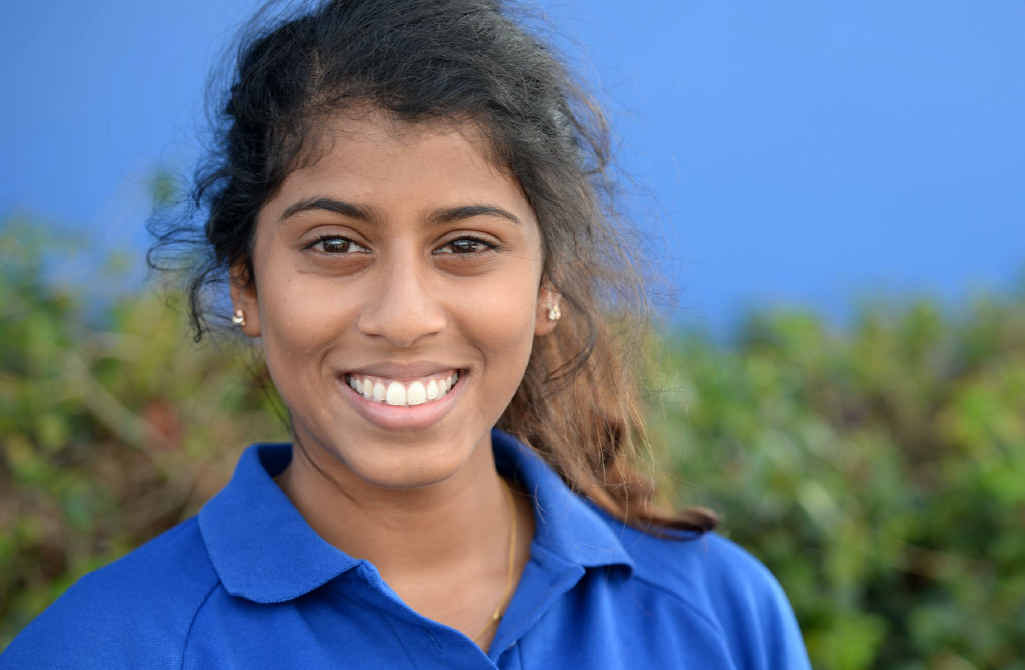 HARD WORK: OP 1 student Azmee Huda is looking forward to six years of studying medicine.