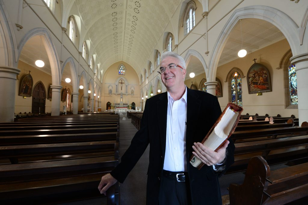 Father Peter Dillon is the new St Mary's Parish Priest.