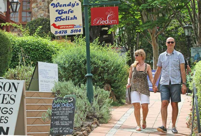Montville. Photo Darryn Smith / Sunshine Coast Daily