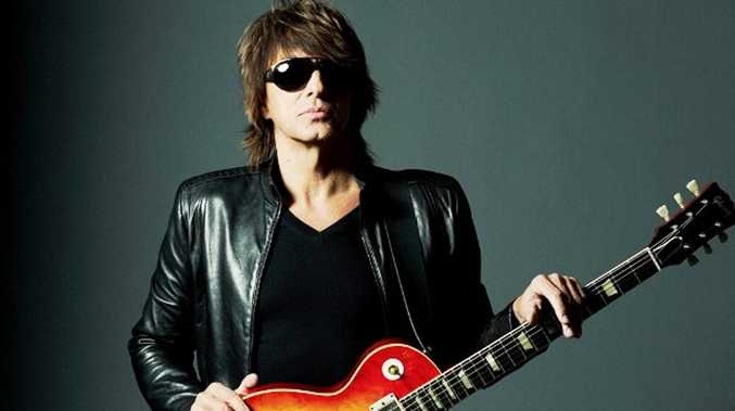 Bon Jovi guitarist and solo artist Richie Sambora. Supplied by Alpha Entertainment.