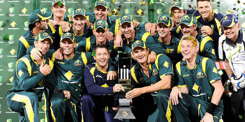 BIG SCREEN CRICKET: Watch the Aussies play the Poms.