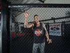NO CONFRONTATION: Ben Pietzsch, co-owner of Extreme MMA Byron Bay, pictured in his new Byron Bay gym, says trained MMA fighters avoid confrontation outside the fighting cage.