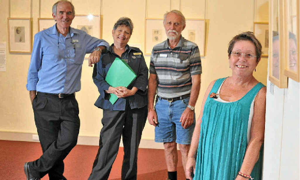 FRIENDLY CULTURE: Harry Gallagher, Marilyn Haertel, Kim Price and Kim Scrimshaw agree that volunteers are integral.