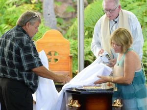 Family and friends say their final goodbye to Kurtis West