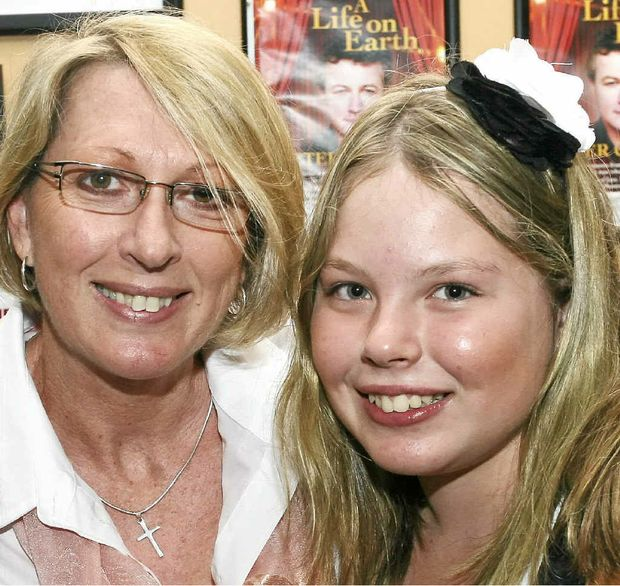 TRAGIC DEATHS: Noelene and Yvana Bischoff.
