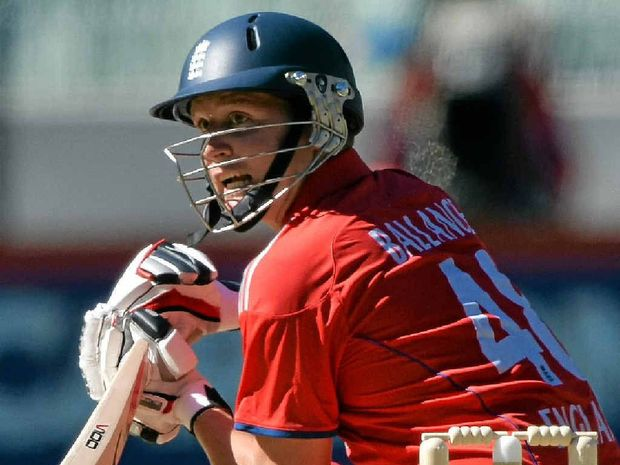 NO FEAR: Young English batsman Gary Ballance says he is ready to face Aussie quick Mitchell Johnson.