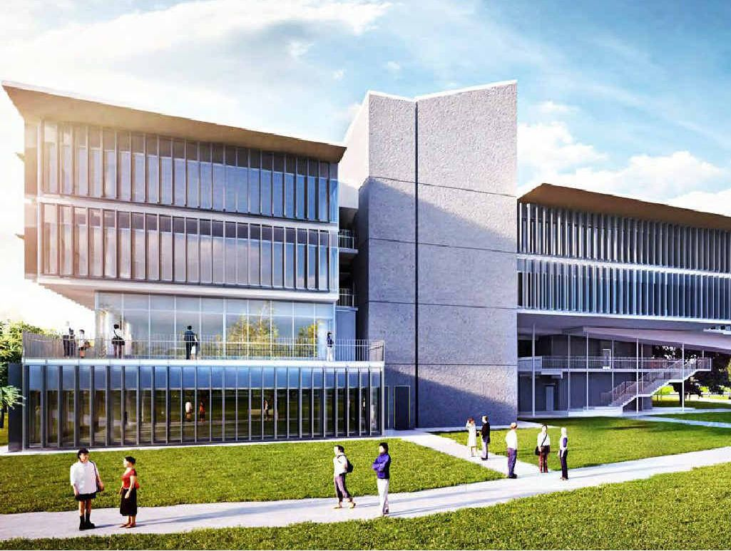 FLAGSHIP: An artist's impression of USQ Springfield's new flagship building.
