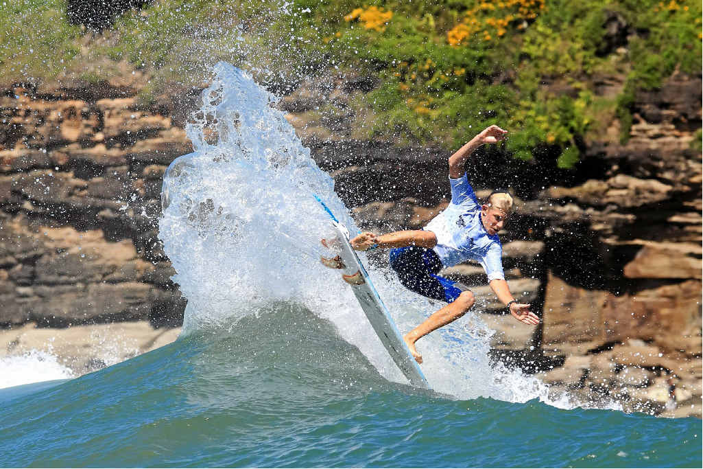 POTENTIAL RECOGNISED: The Sunshine Coast's Kai Hing has received a wildcard for next month's Hurley Australian Open of Surfing.