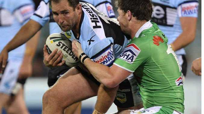 STAYING RETIRED: Ben Ross denies he will be playing for the London Broncos this year.