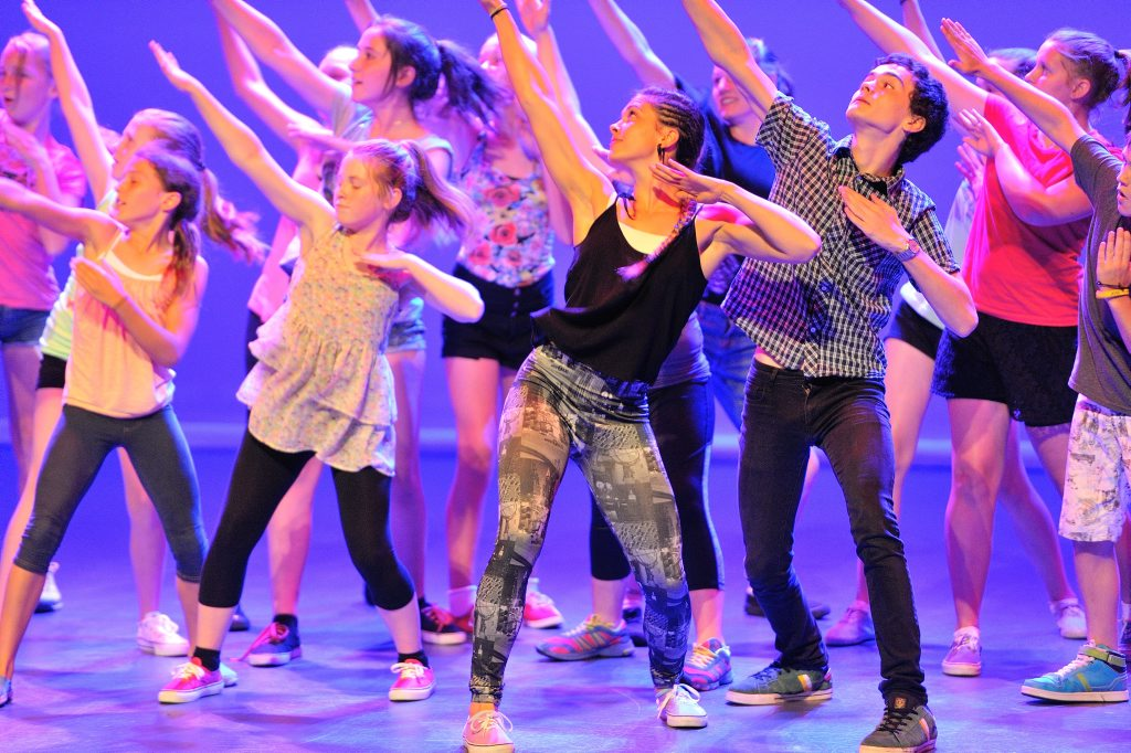 SUNfest Showcase at the GECC - The Hot Shoe Flash Mob.