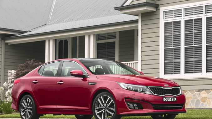 The updated model year 2014 Kia Optima.