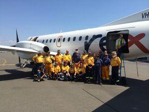 Local firies head to SA to help battle blazes