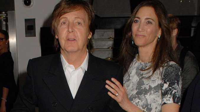Pictured: Sir Paul McCartney and Nancy Shevell.