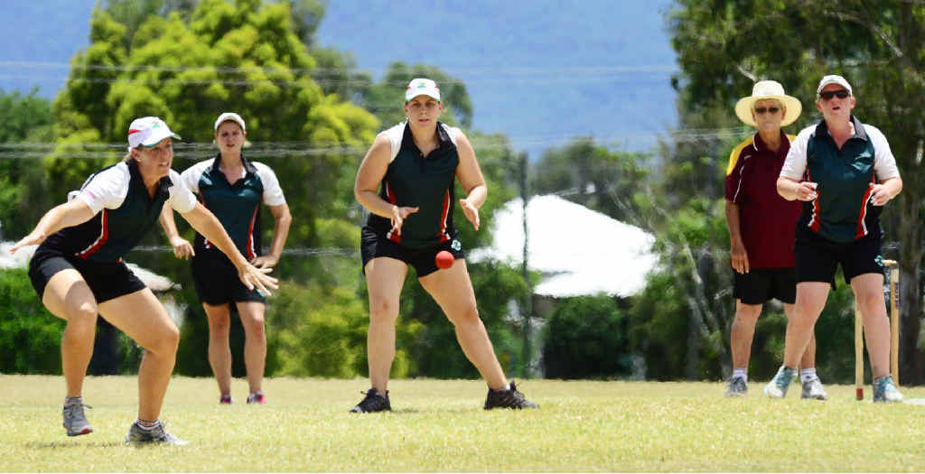 GRAND SLAM: Ipswich heads to victory in the final of the Vigoro State Titles against Townsville.