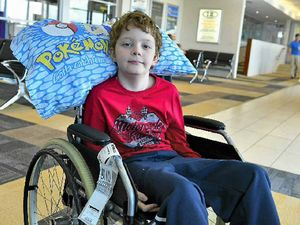 Parents planning big 12th birthday bash for brave Mitchell